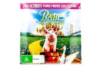 Babe - Pig in the City - Slip Case -Rare DVD Aus Stock -Kids & Family New