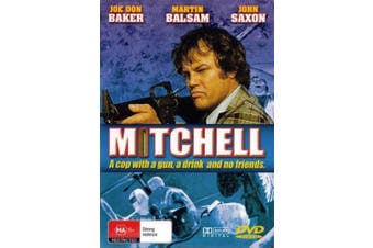 MITCHELL 1980s Comedy Joe Don Baker John Saxon - Rare- Aus Stock DVD NEW