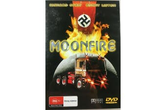 Moonfire Richard Egan Sonny Liston -Rare DVD Aus Stock -War New