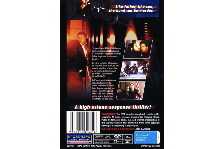 The Silencer - Rare DVD Aus Stock New