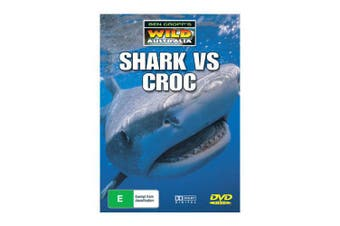 Ben Cropp' Wild Australia -Shark vs Croc -Educational DVD Series New Region ALL