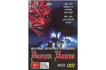 Demon House VINTAGE RETRO HORROR MOVIE Amelia Kinkade - DVD New