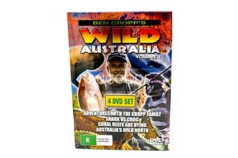 Ben Cropp's Wild Australia Volume 1 4 Disc Set -Educational DVD Series New