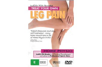 Treat Your Own Leg Pain -Educational Series Region All DVD NEW