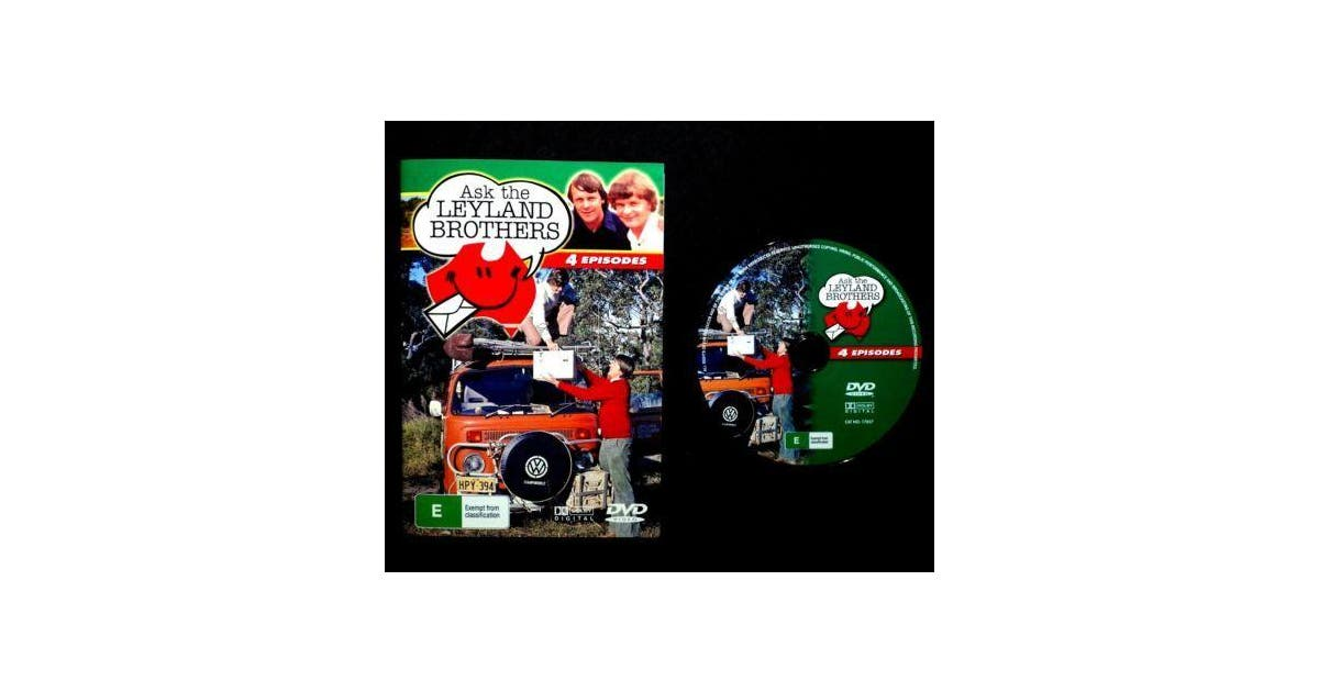 Dick Smith Ask The Leyland Brothers Australia Travel Outback Adventure Tv Series Movies Tv Shows Dvds Blu Ray Discs