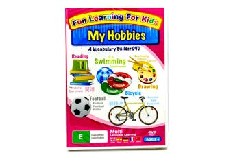 FUN LEARNING FOR Kid's children's: My Hobbies -Kids Series Region All DVD NEW