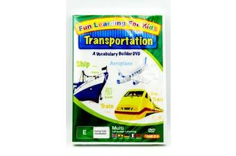 Fun Learning for Kids: Transportation -Kids Series Region All DVD NEW