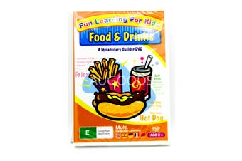 Fun Learning for Kids - Foods & Drinks -Kids Series Rare- Aus Stock DVD NEW