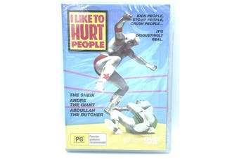 I Like to Hurt People - Rare DVD Aus Stock New