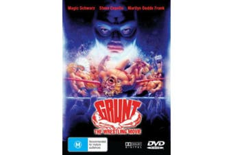 GRUNT THE WRESTLING MOVIE Region 4 PAL - Region 4 Rare- Aus Stock DVD NEW