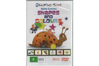 Galloping Minds Baby Learns Shapes and Colours Preschool Educational