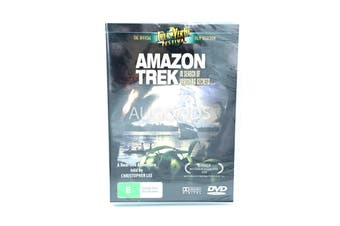 Amazon Trek: in search of Vanishing Treasures -Educational DVD Series New