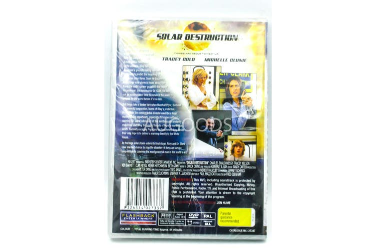 Solar Destruction - Region All Rare- Aus Stock DVD NEW
