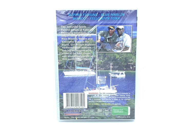 Oz fishing: The Marlin Highway Vanuatu Tuna wahoo -Educational Series DVD NEW