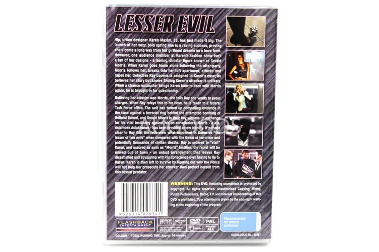Lesser Evil - Rare- Aus Stock DVD NEW