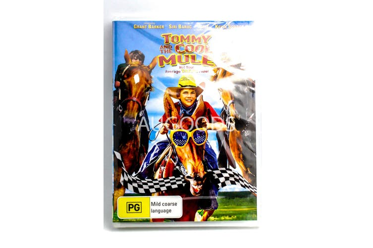 Tommy and the Cool Mule -Family Rare- Aus Stock DVD NEW
