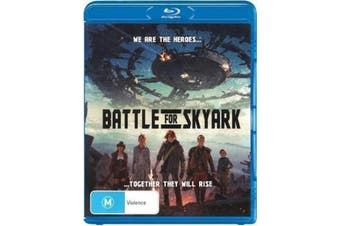 BATTLE FOR SKYARK - LUKE REMINGTON - Rare Blu-Ray Aus Stock New Region B