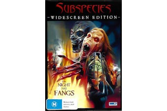 SUBSPECIES - Rare DVD Aus Stock New