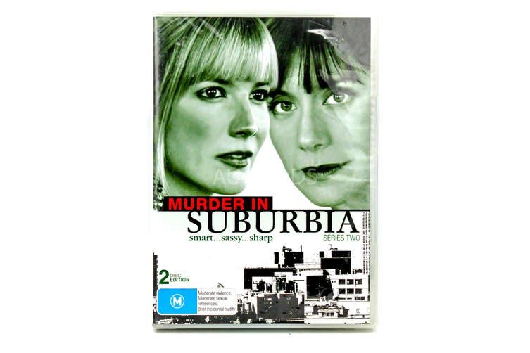 Murder in Suburbia - Series Region 4 Rare- Aus Stock DVD NEW