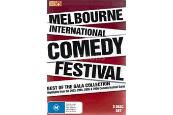 MELBOURNE COMEDY FESTIVAL BEST OF THE GALA COLLECTION -Comedy Region 4 DVD NEW