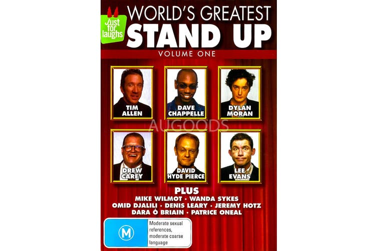 World's Greatest Stand Up Vol. 1 -Comedy Region All Rare- Aus Stock DVD NEW