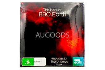 Wonders of the Universe-Destiny-BBC Earth-Slip Case - DVD Series New