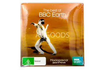 Madagascar-Island of Marvels-BBC Earth-Slip Case - DVD Series New