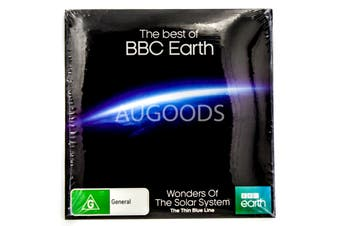 Wonders of the Solar System-Thin Blue Line-BBC Earth-Slip Case