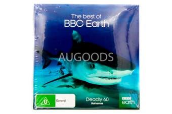Deadly 60 Bahamas-BBC Earth-Slip Case -Educational DVD Series New