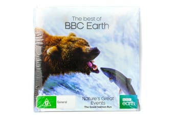 Nature's Great Events - The Great Salmon Run - BBC Earth - Slip Case