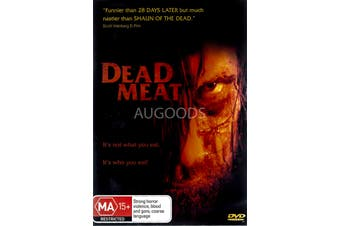 Dead Meat - Rare DVD Aus Stock New Region 4