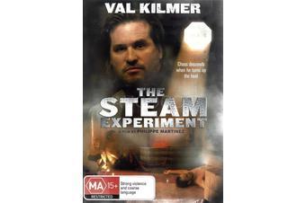 THE STEAM EXPERIMENT - Rare DVD Aus Stock New Region 4
