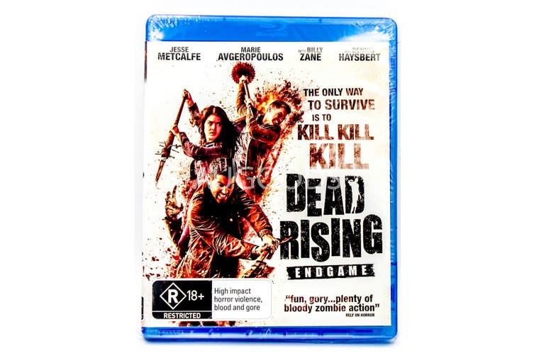 Dick Smith Dead Rising Endgame Rare Aus Stock Blu Ray New