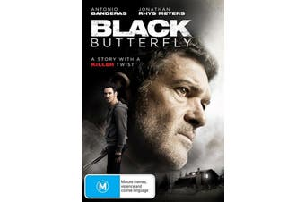 Black Butterfly - Rare DVD Aus Stock New Region 4