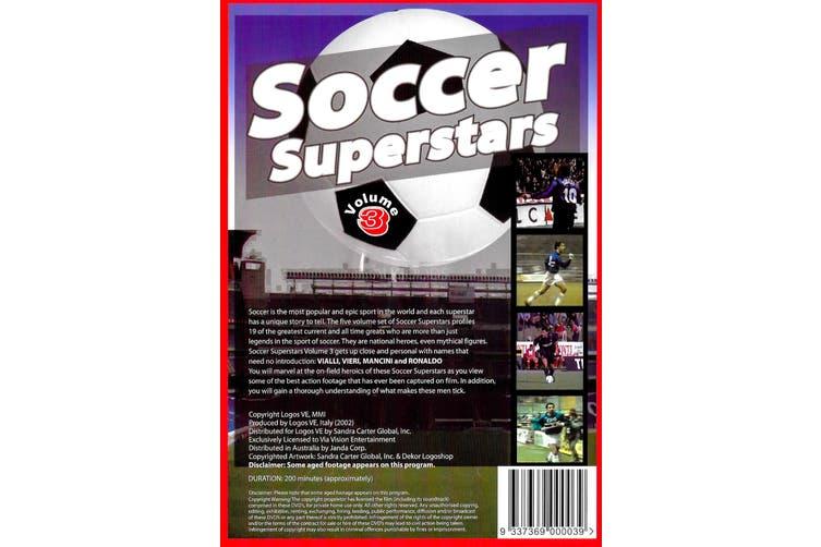 Soccer Superstars - Vol. 3 - Rare DVD Aus Stock New