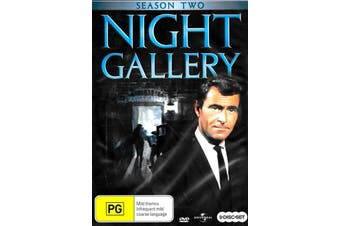 Night Gallery Season Two - DVD Series Rare Aus Stock New Region 4