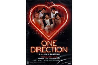 ONE DIRECTION UP CLOSE & PERSONAL -Educational DVD Rare Aus Stock New Region ALL