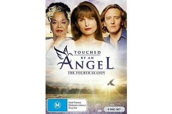 Touched By An Angel : Season 4 - DVD Series Rare Aus Stock New Region 4