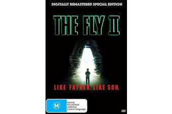 The Fly II - Rare DVD Aus Stock New