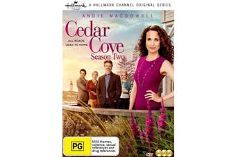 CEDAR COVE - SEASON TWO - DVD Series Rare Aus Stock New Region 4