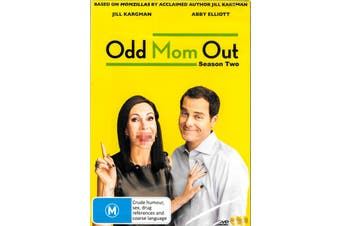 ODD MOM OUT - SEASON 2 -DVD Comedy Series Rare Aus Stock New Region 4