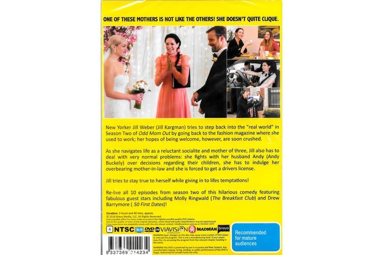 ODD MOM OUT - SEASON 2 -DVD Comedy Series Rare Aus Stock New Region 4