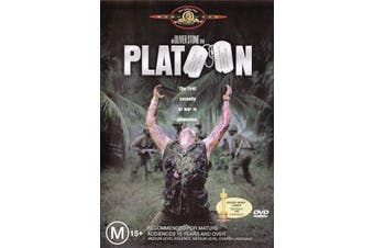 Platoon - Charlie Sheen, Tom Berenger -Rare DVD Aus Stock -War New Region 4