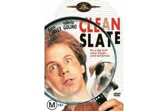 Clean Slate -Rare DVD Aus Stock Comedy New