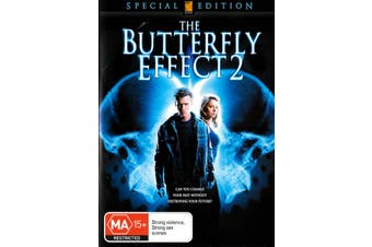 The Butterfly Effect 2 -Rare DVD Aus Stock Animated New Region 4