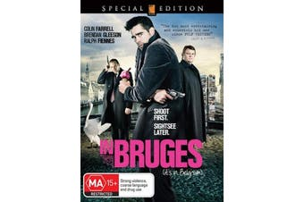 In Bruge - Rare DVD Aus Stock New Region 4