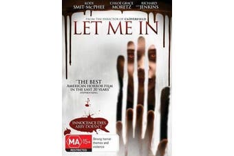 Let Me In - Rare DVD Aus Stock New