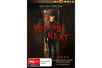 You're Next - Rare DVD Aus Stock New Region 4
