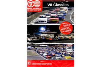 V8 CLASSICS - MEMORABLE RACES FROM THE START OF THE V8 ERA - DVD New Region 4