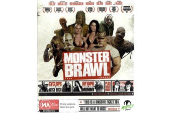 MONSTER BRAWL - Rare Blu-Ray Aus Stock New